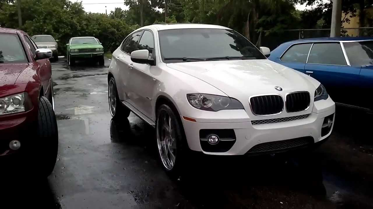 Bmw X6 On 26s Forgiato Wheels Florida Youtube