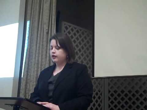 Gordon Simonett Introduces Stephanie Dix Clifford