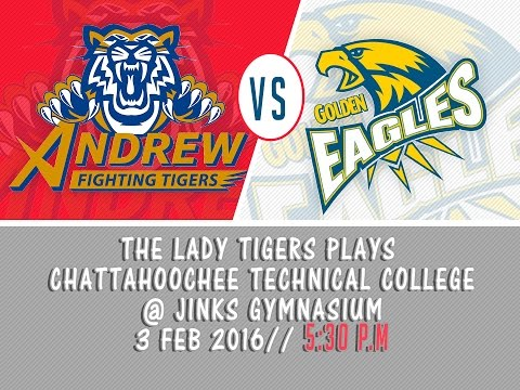 WOMEN BASKETBALL: ANDREW COLLEGE vs CHATTAHOOCHEE TECHNICAL COLLEGE