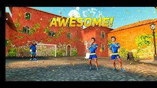 Skill twins : Football game - gameplay (online)