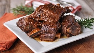 Beef ribs in slow cooker - Beef Recipes