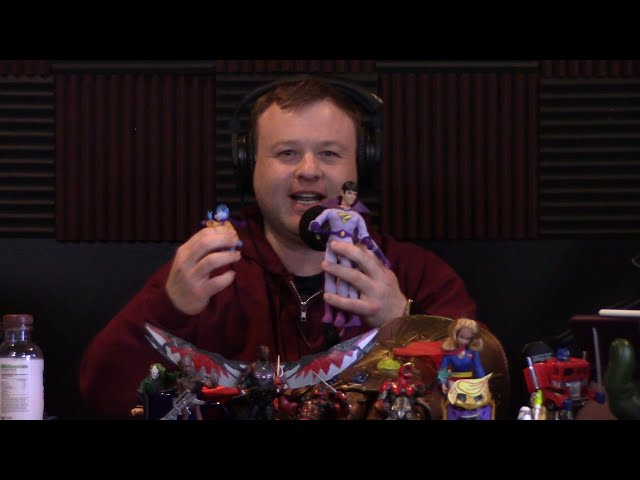 Frank Caliendo Playing with Dolls on Comic Playground Podcast (Voicing/Impressions of Toy Figures)