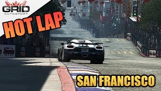 Grid Autosport Gameplay - Hot Lap - Koenigsegg Agera R - San Francisco