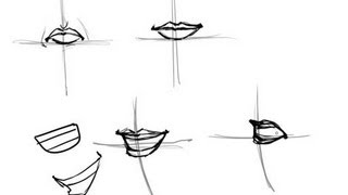 How to Draw the Mouth- Easy
