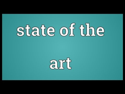 State of the art Meaning