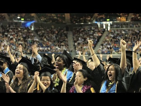 UCLA College Commencement Highlights 2014