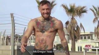 Gambar cover UFC 196: Um dia na rotina de treinos de Conor McGregor
