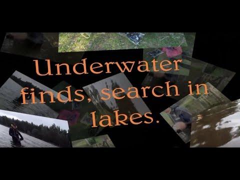 Underwater Finds,search In Lakes.-Находки на озёрах, поиск в прибрежной полосе.