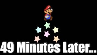 Hitting an Invisible Shy Guy for 49 Minutes Crashes Paper Mario