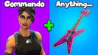 10 SKINS THAT COMBO WITH EVERY BACKBLING in Fortnite! (best skins for combos)