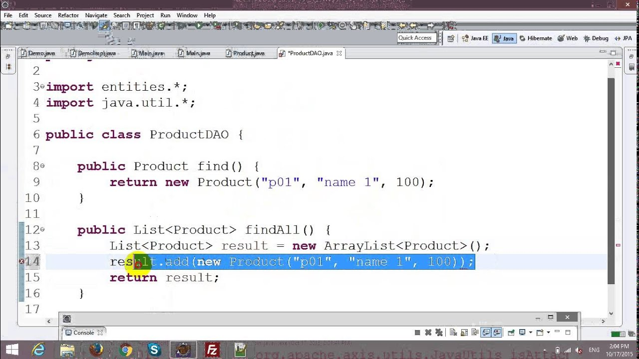 Building Java Web Services With Jax Ws Youtube