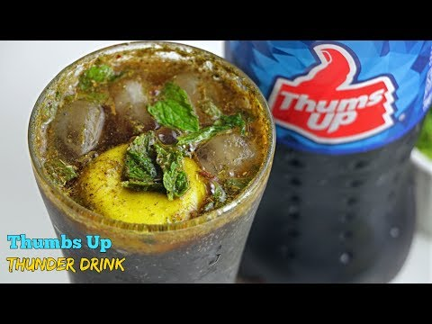 Thumbs Up Thunder | Thumbs Up Mocktail | తంబ్స్అప్ థందర్ డ్రింక్ | Best Summer Drink