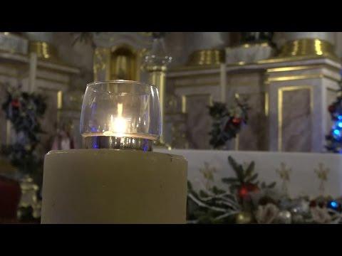 Рождественская месса в костеле Святой Девы Марии в Минске