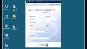 How to Login to Netcom AdditionsX