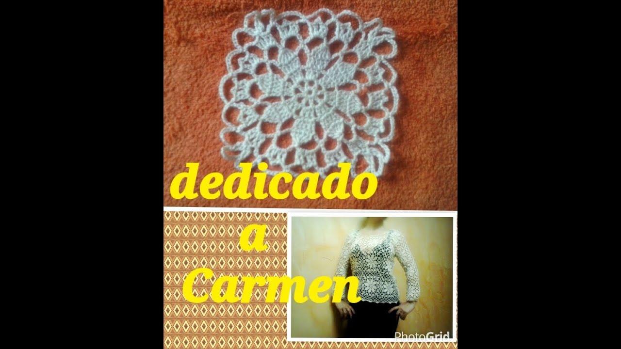 Como hacer una aplicacion de crochet youtube - Aplicaciones en crochet ...