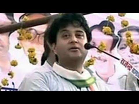 What Congress's Jyotiraditya Scindia sang for BJP's Shivraj Singh Chouhan