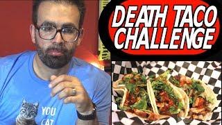 Death Taco Challenge at Genkiyaki w/ Main Event Pong &