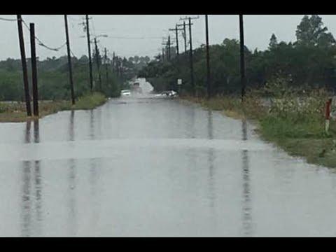 Flooding, Pharr, TX. June 20, 2018 - raw footage.