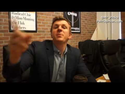 HUFFPO WRITER TRESPASSES FOA  James O'Keefe Private Event