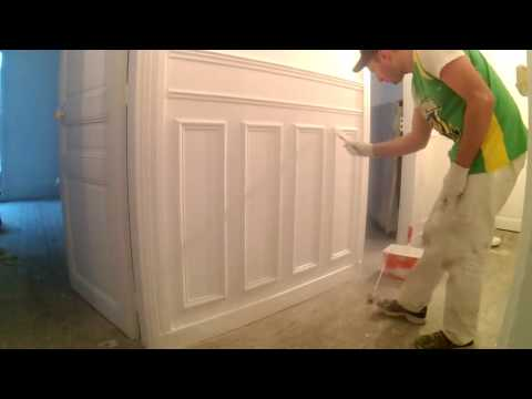 Paint Chair Rails & Wainscoting ★ Haussmann style