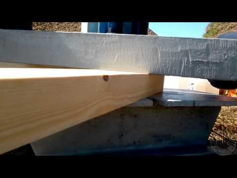 видео: Сборка фермы для крыши дома в
