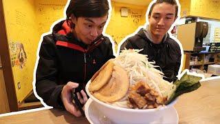 MEGA PORK RAMEN Challenge, Tokyo JP | メガ豚野郎ラメン
