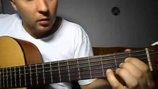 Как играть на гитаре. В.Цой - Легенда