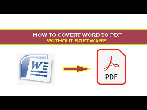how-to-convert-word-to-pdf-without-software