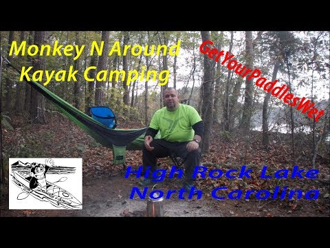 Boones Cave to High Rock Lake on my Kayak