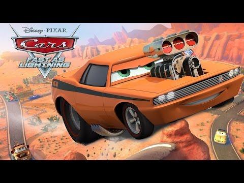 Cars: Fast as Lightning   iOS / Android   Walkthrough / Lets Play #2 - Snotrod Racing Achoo