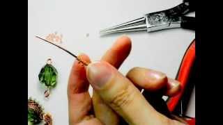 Мастер - класс: Оплетка бусины бисером и проволокой