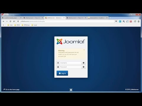 How To Recover Admin Password For Joomla! 3