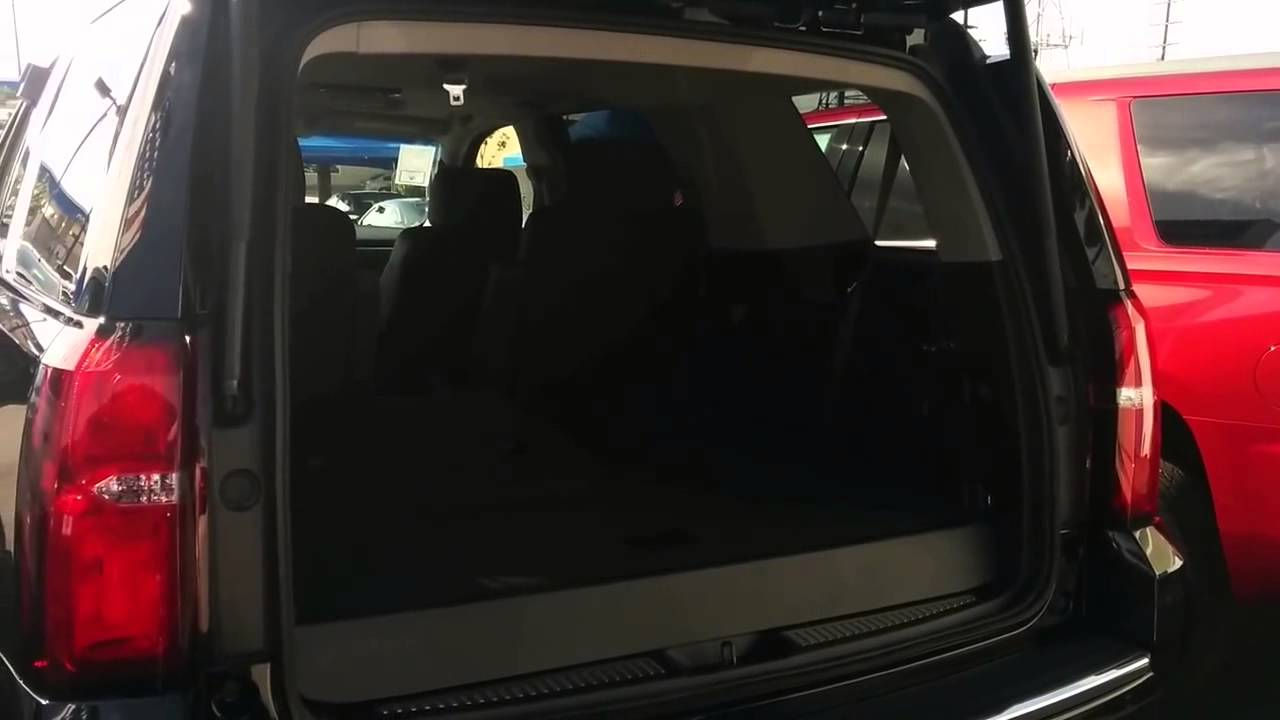 2015 Chevrolet Tahoe Power Folding 3rd Row Seats And Power