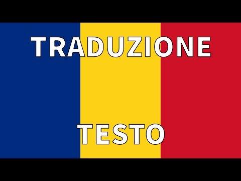 Inno ROMANIA TRADUZIONE + TESTO Italiano - Deșteaptă te, Române!