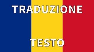 Inno ROMANIA TRADUZIONE TESTO Italiano - Desteapta te, Romane!