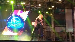 Akira Kushida No Recife Super Con 2018 Tema De Sharivan Uchuu Keiji Sharivan