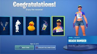 NEW FORTNITE 14 DAYS OF SUMMER FREE REWARDS / ITEMS AND CHALLENGES!!