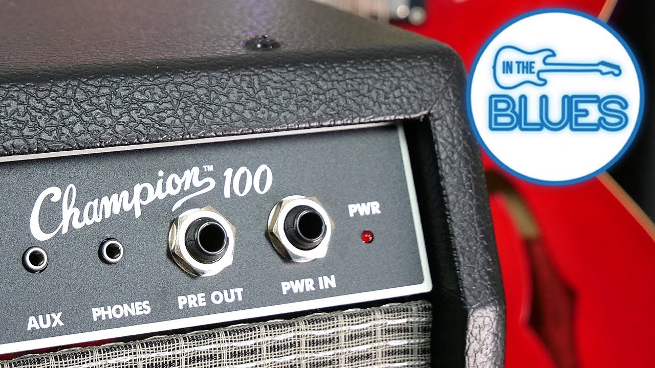 The Fender Champion 100 Guitar Amplifier Review
