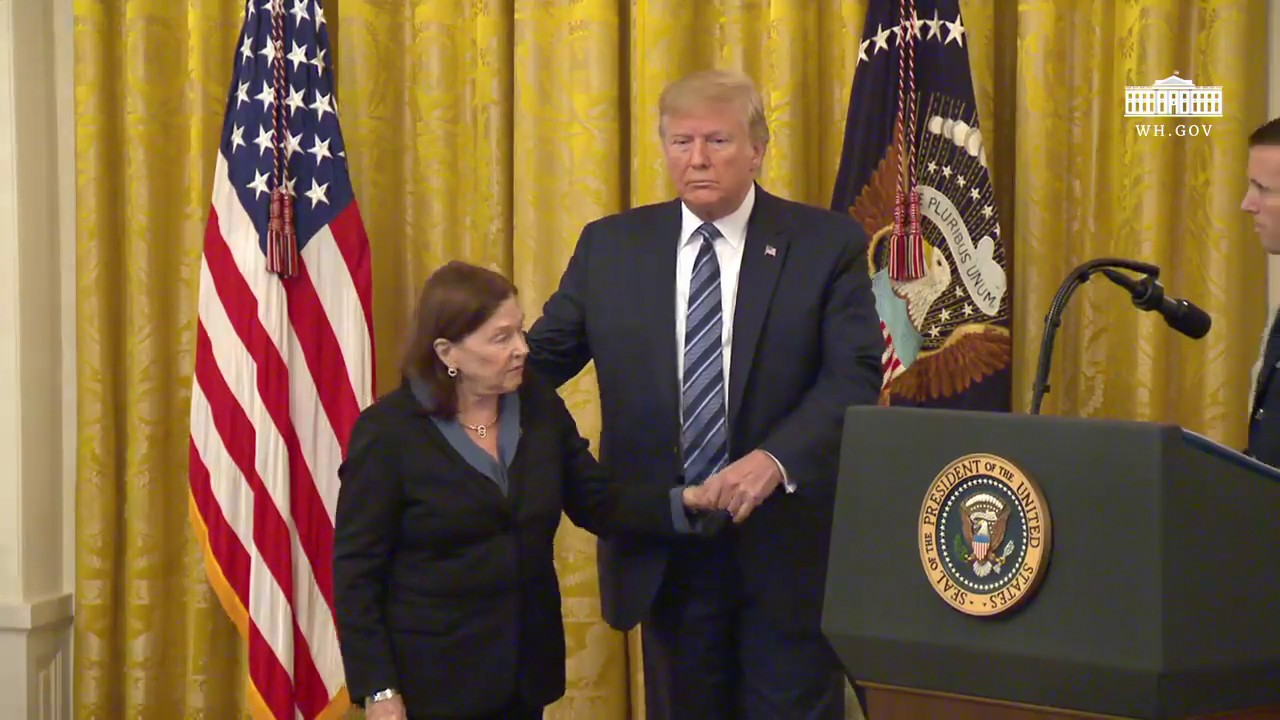 The White House President Trump Presents the Presidential Citizens Medal