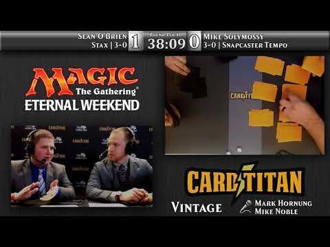 Round 4 Eternal Weekend 2017 Vintage Championship