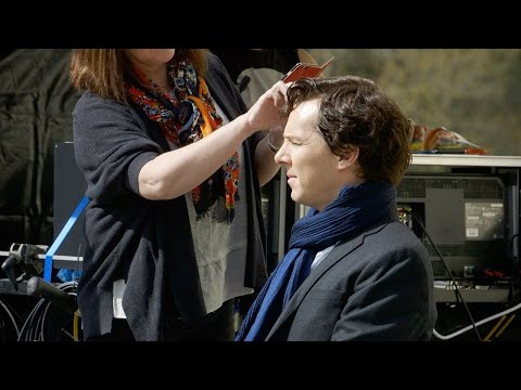 First Week Of Filming With Mark Gatiss | Sherlock