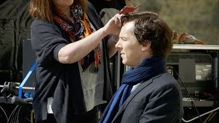 First Week Of Filming With Mark Gatiss - Sherlock