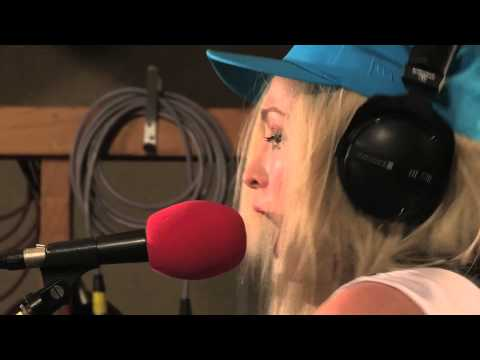The Ting Tings - Hang It Up in session for Zane Lowe on BBC Radio 1