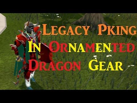 Runescape Pking In Ornamented Dragon Gear Suicide Tank Runescape