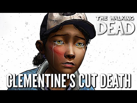 Clementine's Cut Death - The Walking Dead: Definitive Edition - (Skybound Games)