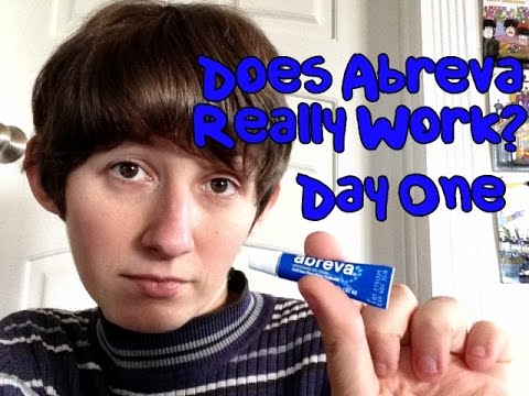 Does Abreva Really Work  DAY ONE