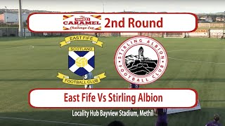 East Fife Vs Stirling Albion Highlights 13/08/19