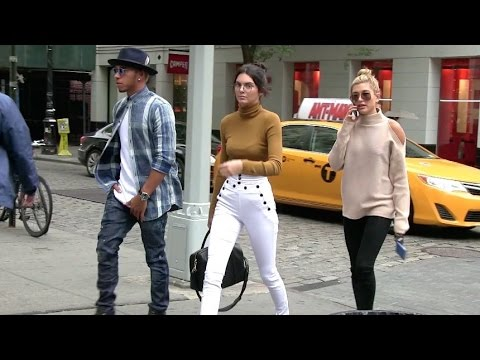 EXCLUSIVE – Kendall Jenner and Lewis Hamilton dating in New York – Part 1