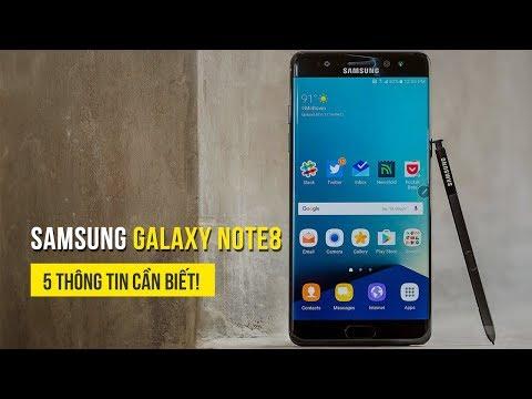 Samsung Galaxy Note8 - Những điểm nhấn lớn trên siêu phẩm mới