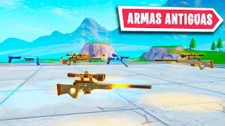 How to Get *OLD WEAPONS* in Fortnite Season 9 Bugs